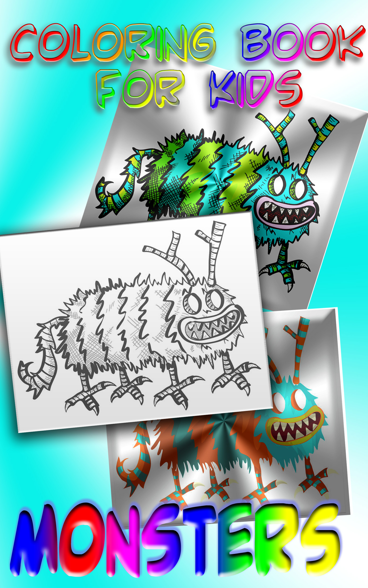 MONSTERS: Coloring Book for Kids - photo#38
