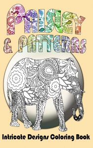 Paisley and Patterns Intricate Coloring Book