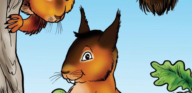 Skwidge, A Squirrel's Tail
