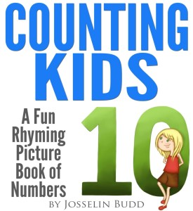 Counting Kids - A Fun Rhyming Picture Book of Numbers