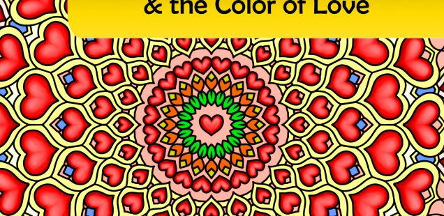 My heart my valentine the color of love adult coloring book 100 original coloring pages