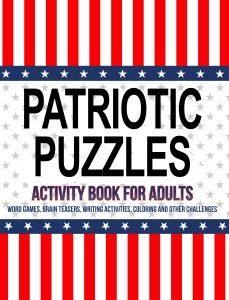 Patriotic Puzzles Adult Activity Book
