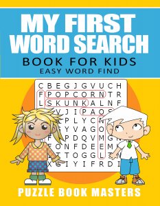 My First Word Search Book for Kids: Easy Word Find